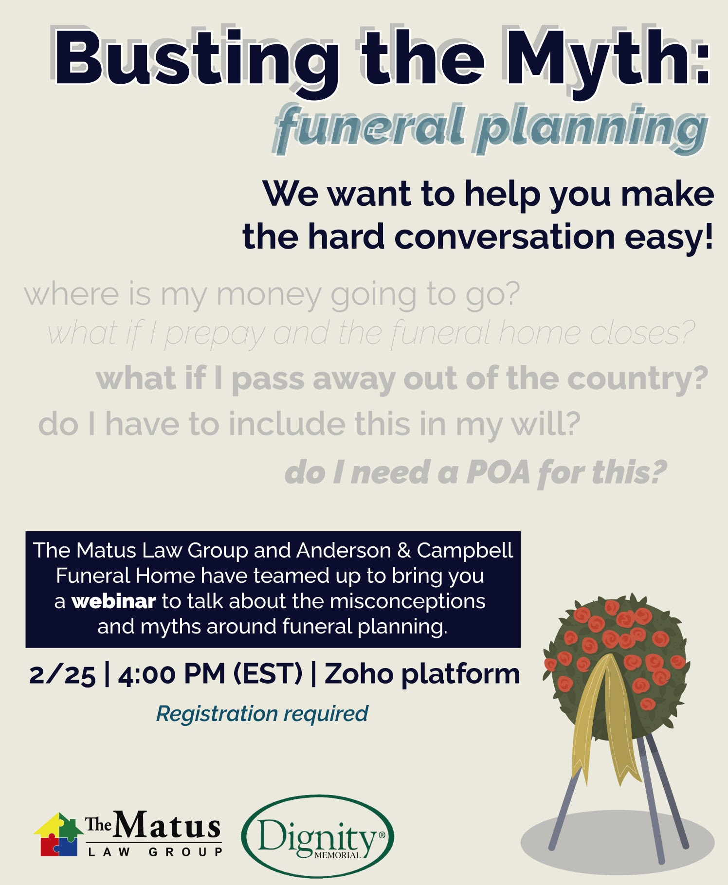 advance planning funeral in New Jersey